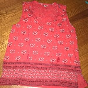 Lucky brand patterned tank top
